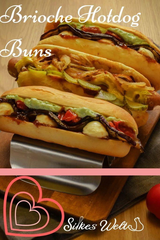 Brioche Buns für Hotdogs