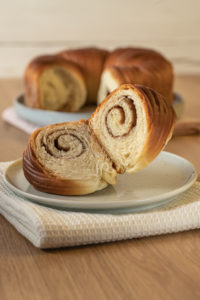 Zimtschnecken ala wool roll bread