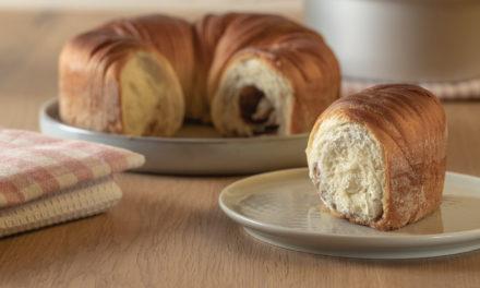 wool roll bread Zimtschnecken