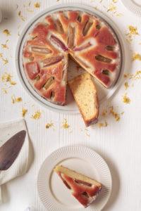 Rhabarber Joghurt Kuchen Rezept