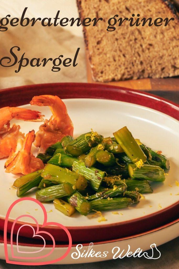 Rezept für grüner Spargel vegetarisch