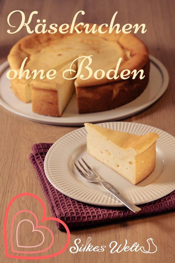 Käsekuchen ohne Puddingpulver