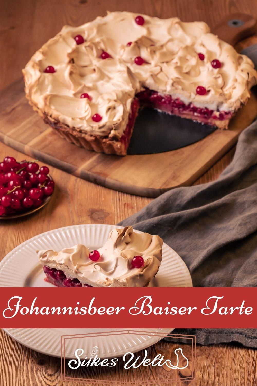 Johannisbeer Baiser Tarte Rezept