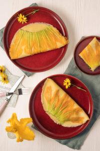 Pfannkuchen mit Zucchiniblüte Rezept