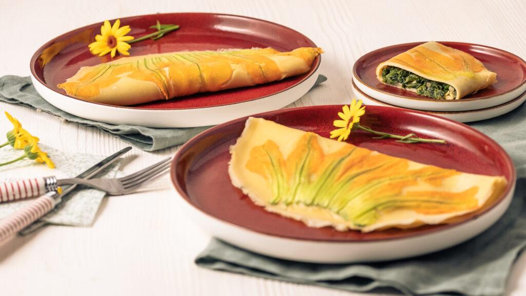 Zucchiniblüten Pfannkuchen Rezept