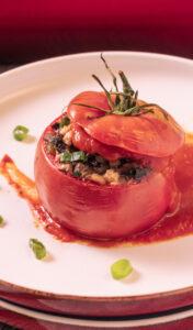 Meine vegetarisch gefüllten Tomaten