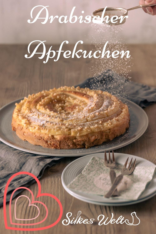 Rezept für arabischer Apfelkuchen ohne Butter