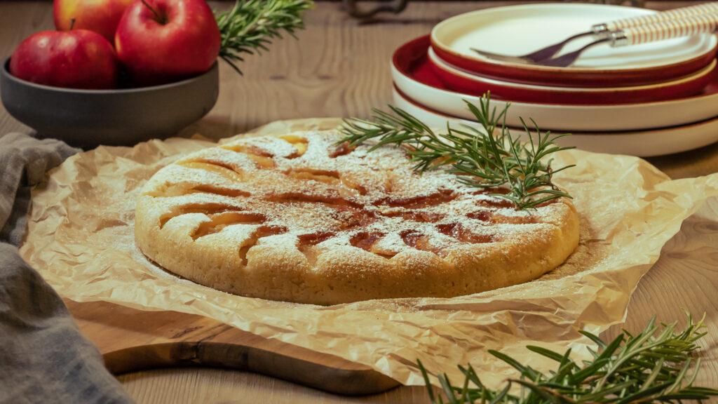 Apfelkuchen ohne Backofen Rezept