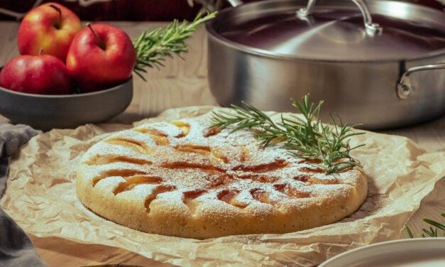 Pfannen-Apfelkuchen