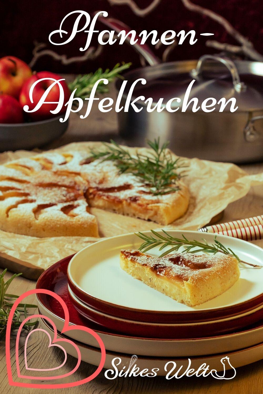 Pfannen-Apfelkuchen Rezept ohne Backofen