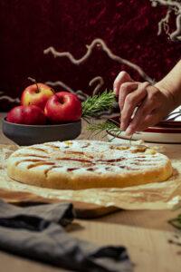 einfacher und schneller Apfelkuchen aus der Pfanne