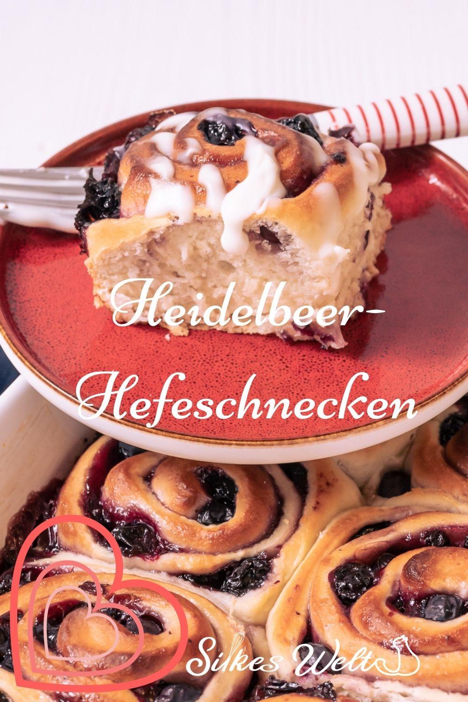 Heidelbeer-Hefeschnecken